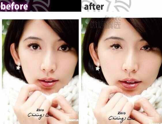"""""""卸妆软件""""还原美照修图前的样貌, 美女自拍界的末日啊!"""