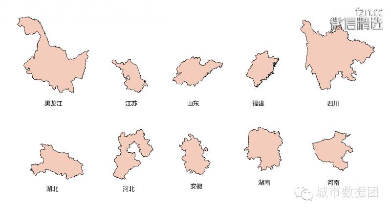 逃离你终将衰落的家乡——大数据城市人口分析