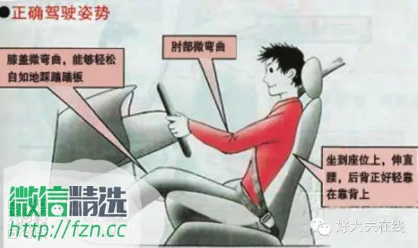 十一长假开长途车,保护好你的腰!送给辛苦的司机大人!