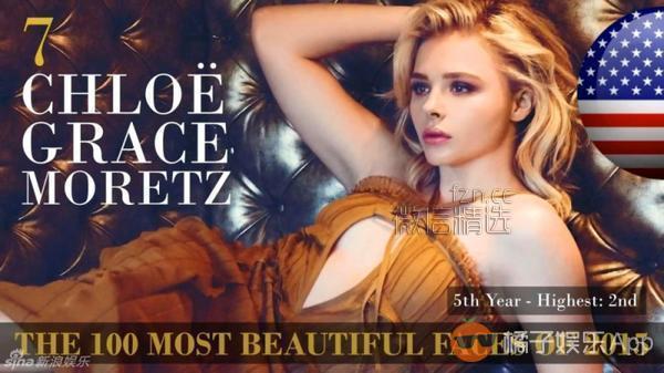 世界最美100人,刘亦菲77名,范冰冰没入围,第一名竟然又是她?