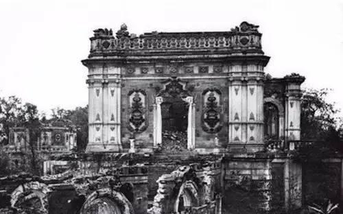 英公布圆明园被毁前照片,犹如仙境引世界轰动