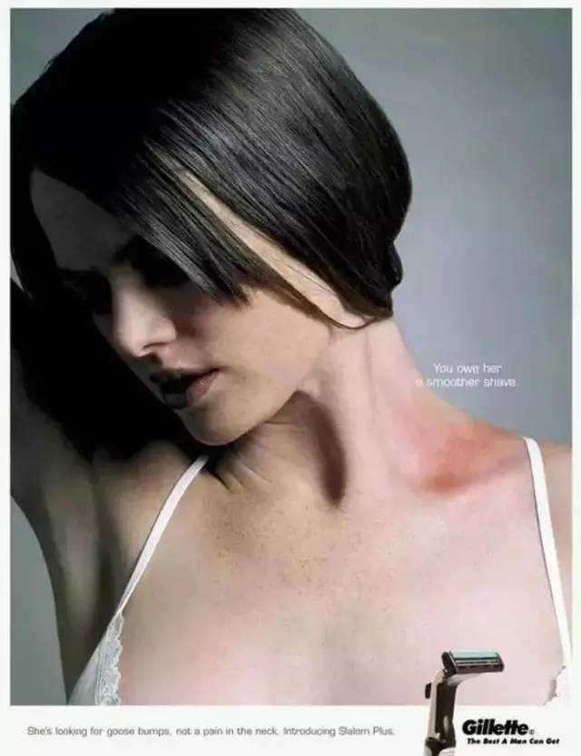 盘点史上最性感的广告