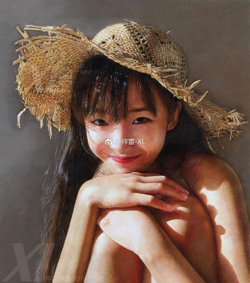 最近这组照片火了 :姑娘,你好美啊!竟然是彩铅画作