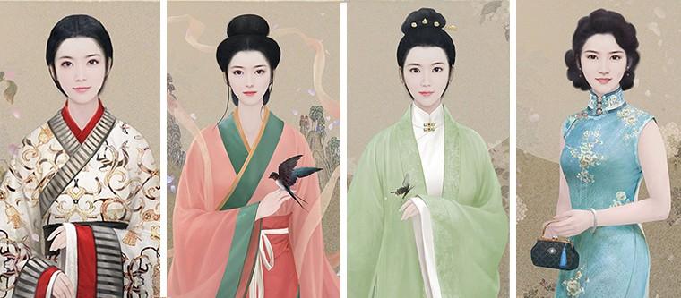 """""""历代女装图""""背后有哪些历史和文化故事?背揭秘更令人惊叹……"""
