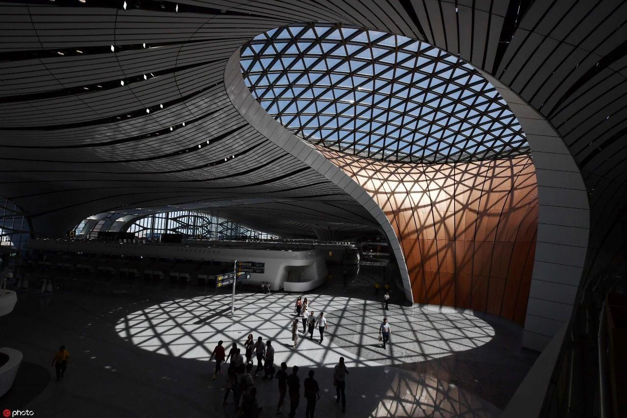 """太!牛!了!""""新世界七大奇迹""""之首的 北京大兴国际机场正式投运!"""