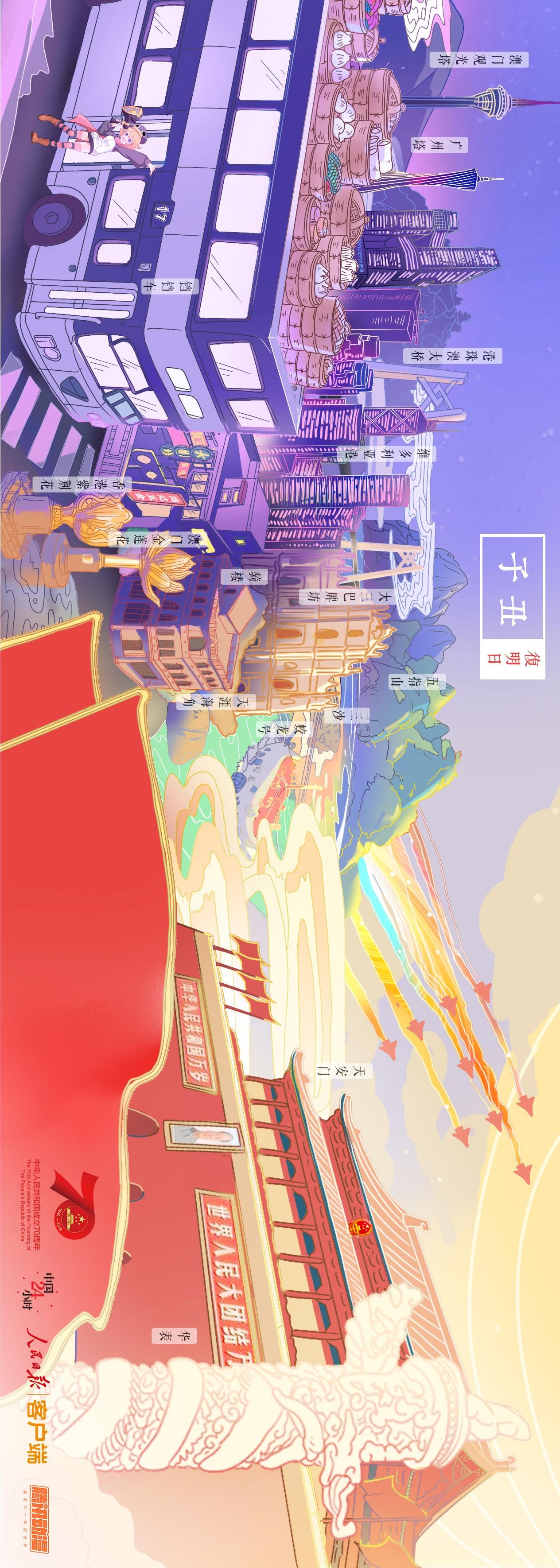 图说:24小时看遍中国 70年见证华夏奇迹