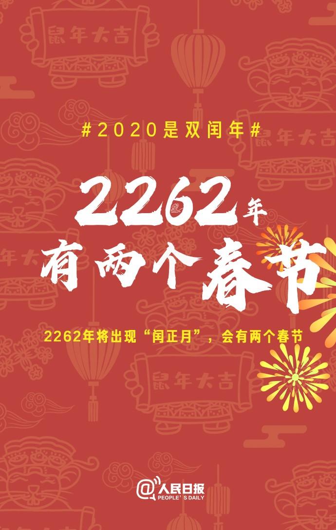 2020是双闰年,鼠年有13个月,要多上一个月的班!有网友很开心